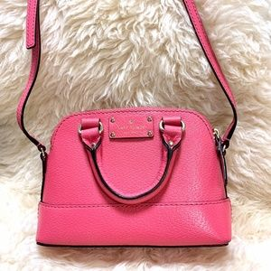Kate Spade Bright Pink Leather Crossbody